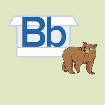 Store B og lille b