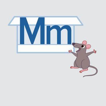 Store M og lille m