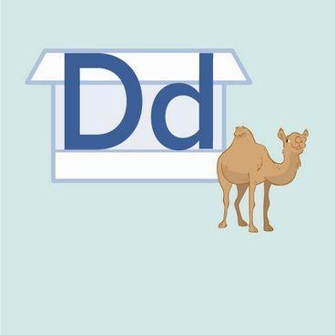 Store D og lille d